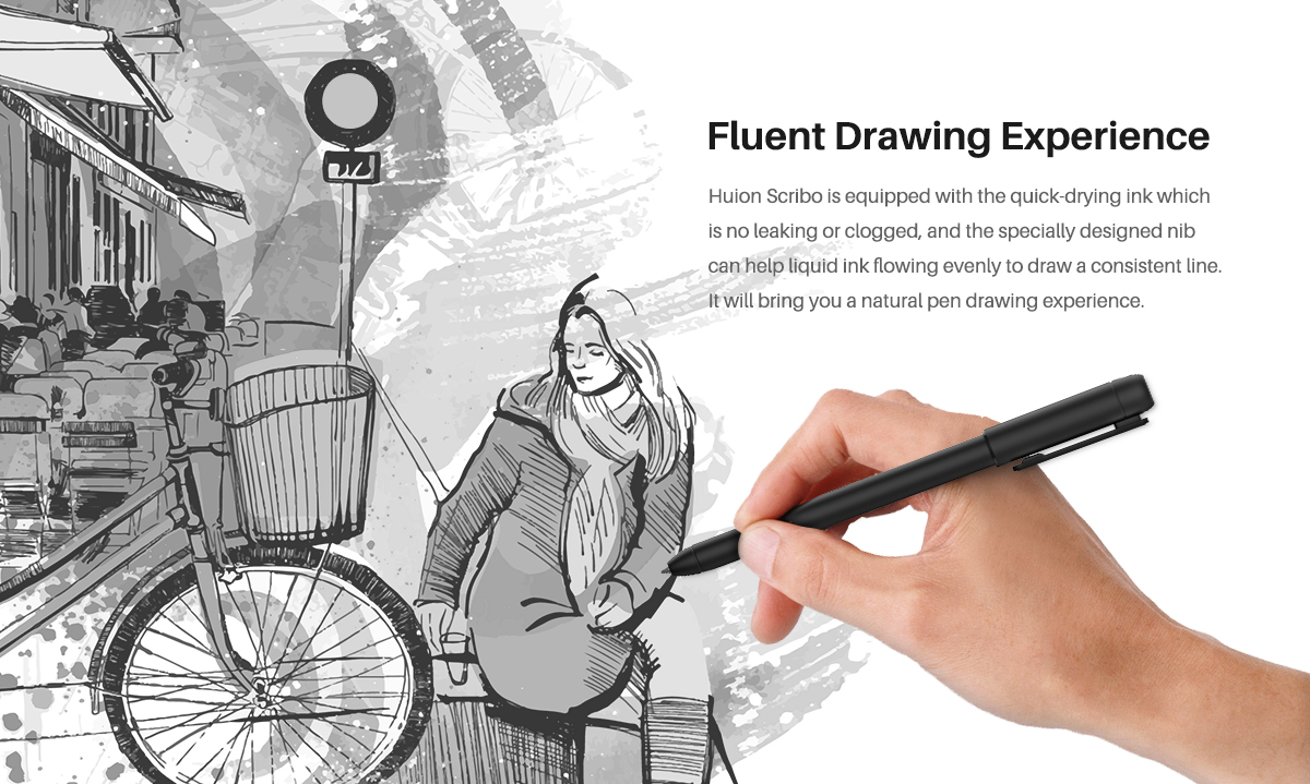 Fluent drawing experience