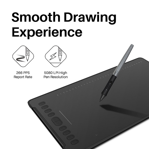 Inspiroy H1161 Graphics Tablet | Huion Bangladesh