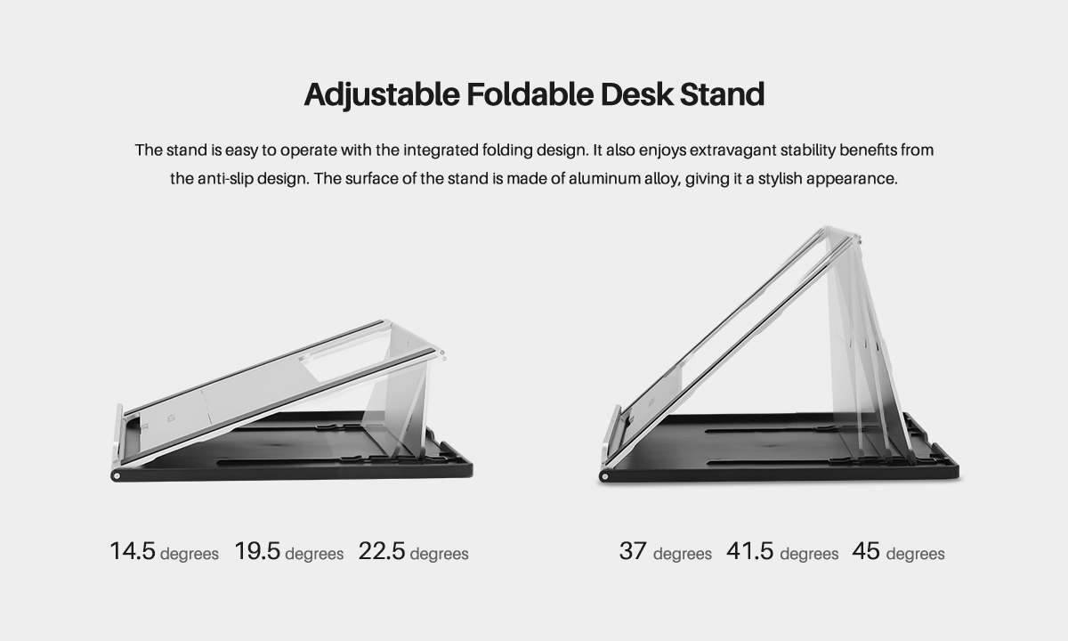 Adjustable Foldable Desk Stand